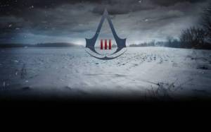 Обои знак assassins creed символ, эмблема, логотип на рабочий стол